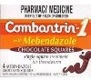 Combantrin-1 Chocolate Squares with Mebendazole