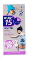 Hedrin Headlice Treatment Spray Gel