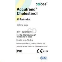 Accutrend Cholesterol Strips