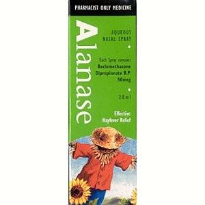 Alanase Aqueous 20ml Nasal Spray