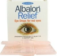Albalon Relief Eye Drops 5 x .4ml Vials