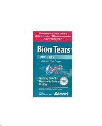 Alcon Bion Tears Lubricant Eye Drops