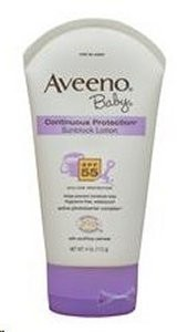 Aveeno Baby Continuous Protection Sunblock 55+
