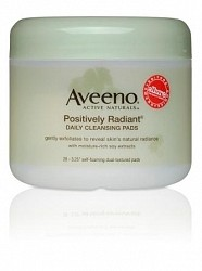 Aveeno Positively Radiant Cleansing Pads