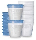 Avent Via Storage Containers for Expressed Breast Milk