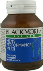 Blackmores Mens Performance Multi