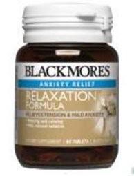 Blackmores Relaxation Formula