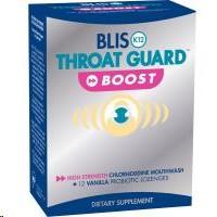 Blis K12 Throat Guard Boost Vanilla