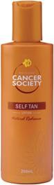 Cancer Society Self Tan Lotion