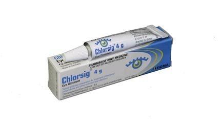 Chlorsig Eye Ointment - 1% (4g)