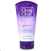 Clean and Clear Continuous Control Acne Cleanser