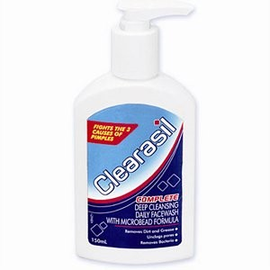 Clearasil Complete Deep Cleansing Daily Face Wash