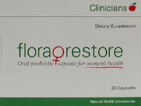 Clinicians Flora Restore Capsules