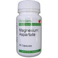 Clinicians Magnesium Aspartate 125mg Capsules