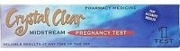 Crystal Clear Pregnancy Test Midstream