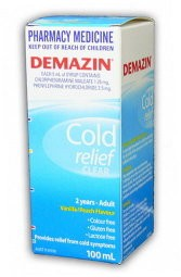 Demazin Clear Syrup
