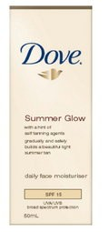 Dove Summer Glow Daily Facial Moisturizer SPF15