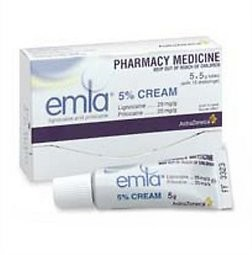 Emla 5% Cream (5 * 5g tubes per packet)