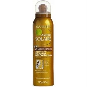 Garnier Ambre Solaire No-Streaks Bronzer Self-Tanning Spray