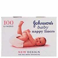 Johnsons Baby Nappy Liners