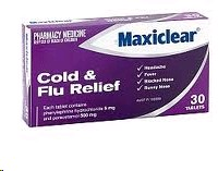 Maxiclear Cold & Flu Relief