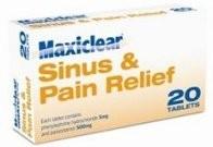 Maxiclear Sinus & Pain Relief
