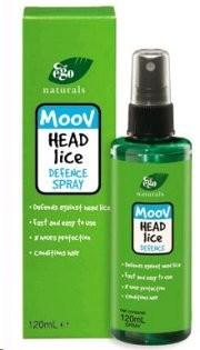 Moov Head Lice Defence Spray