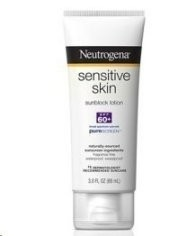 Neutrogena Sensitive Skin Sunblock Lotion SPF 60+