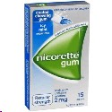 Nicorette Icy Mint Gum 2mg 15 pieces