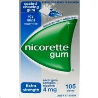 Nicorette Icy Mint Gum