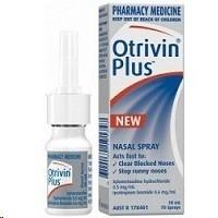 Otrivin Plus Decongestant Nasal Spray 10ml