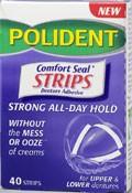 Polident Denture Adhesive Comfort Seal