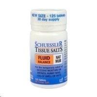 Schuessler Tissue Salts Nat Mur - Fluid Balance