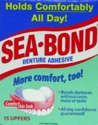 Seabond Upper Denture Adhesive