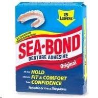 Seabond Lower Denture Adhesive