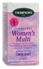Thompsons Femmefort Womens Multi Tablets