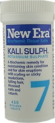 Thompsons New Era Kali Sulph. Cell Salts ( 7 )