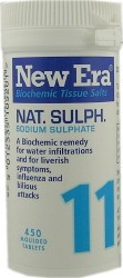 Thompsons New Era Nat Sulph Cell Salts ( 11 )