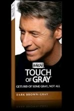 Touch of Grey - Dark Brown